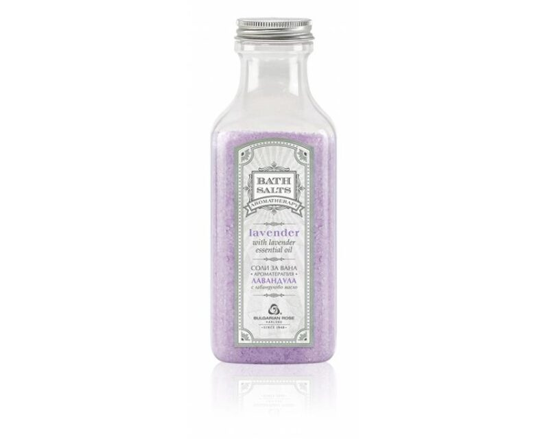 Badesalz Lavendel Aromatherapie 470g
