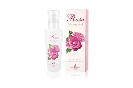 Natürliches Rosenwasser Spray